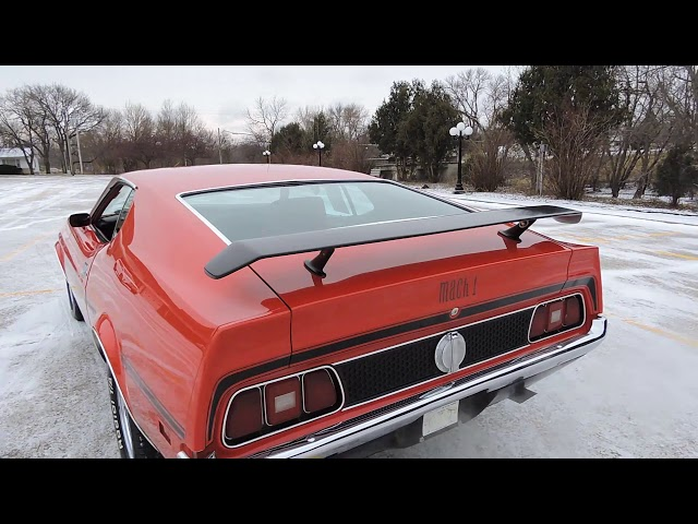 1971 Ford Mustang Red Mach One For At Www Coyoteclics Com You