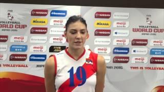 Tijana Boskovic   It was a very hard match