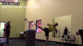 Black Belt Workout #7: Partner Assisted Kick Drills for Balance & Accuracy