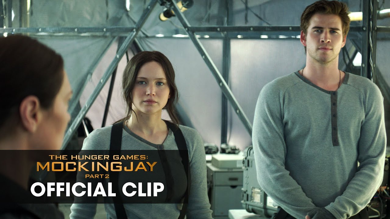 The Hunger Games  Mockingjay Part 2 Official Clip        Star Squad     The Hunger Games  Mockingjay Part 2 Official Clip        Star Squad      YouTube