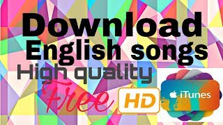 How to download english songs [HD] || New songs high quality ll #english with Roushan x