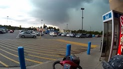Fast-Moving Super-Cell Hits Hanover, Ontario, Canada - August 2, 2015