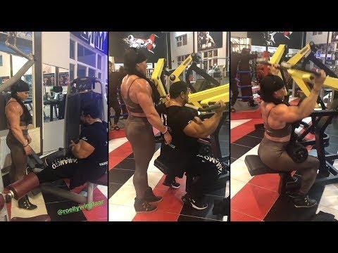 Back Workout - IFBB Pros Helle Trevino & Roelly Winklaar