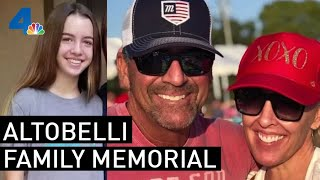 Watch: Three Altobelli Family Members Killed in Helicopter Crash Honored at Angel Stadium | NBCLA