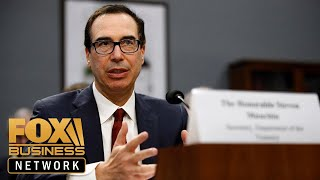Waters and Mnuchin clash during hearing on Captiol Hill