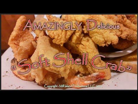 AMAZINGLY Soft Shell Crab Yummy Great