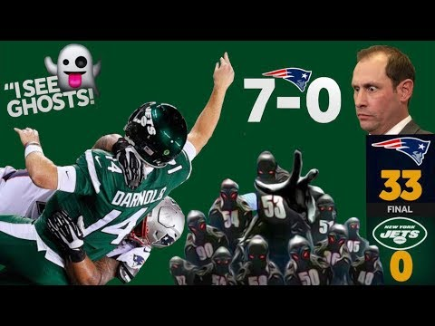 "Boogeymen Patriots Defense Had Sam Darnold, Jets ""Seeing Ghosts"" 33-0 Postgame Reaction! 7-0!"