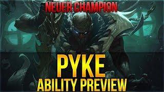 Pyke: Bloodharbor Ripper Champ Reveal! ÜBERLADETER CHAMP [League of Legends] [Deutsch / German]
