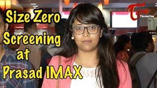 Size Zero Movie Screening at Prasad IMAX || Anushka Shetty || Arya