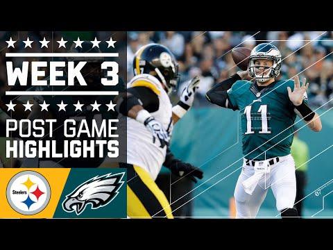 Steelers vs. Eagles | NFL Week 3 Game Highlights