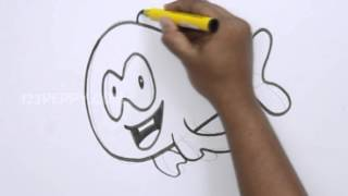 How to Draw a Mr.Grouper