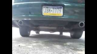 94 Camaro Magnaflow Exhaust Modification 3/3 SOUNDS SO MUCH BETTER