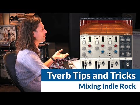 Jonathan Schenke on Mixing with Tverb