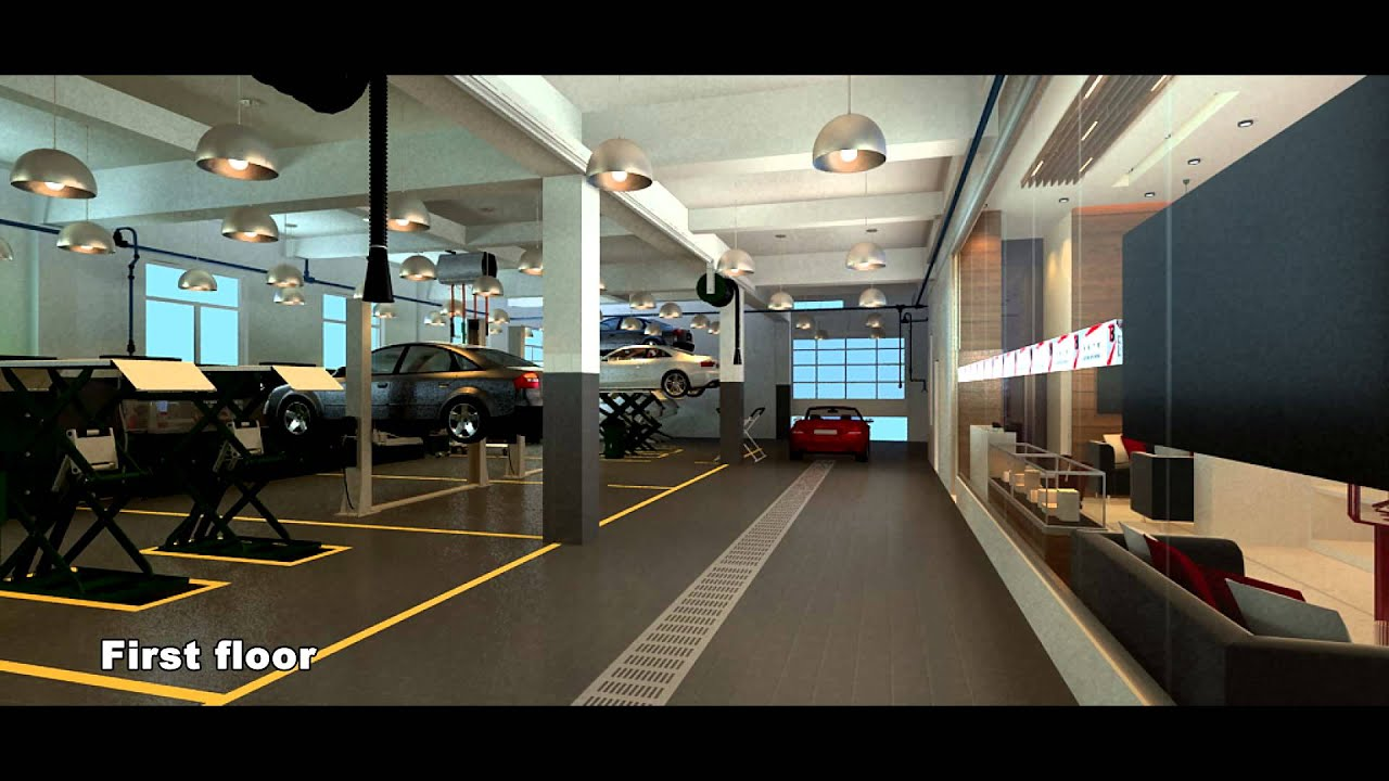 Auto Repair Garage Floor Plans: Auto Repair Shop Design Case By SYLVANAUTO