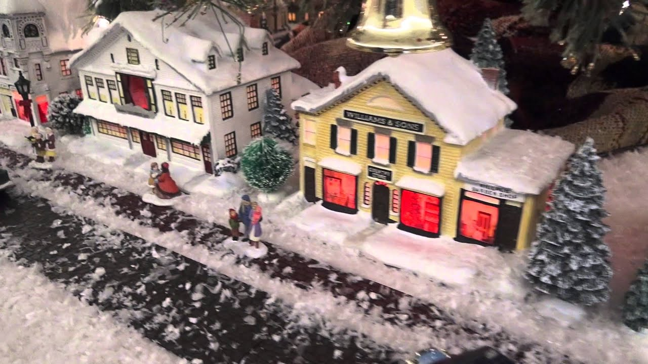 Norman Rockwell\'s Christmas Village - YouTube