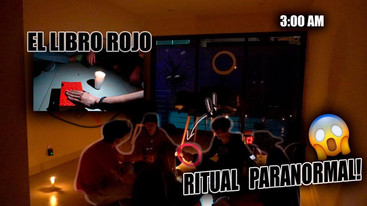 LEYENDO EL LIBRO ROJO - EXPERIENCIAS PARANORMALES (RITUAL) // LIBARDO ISAZA