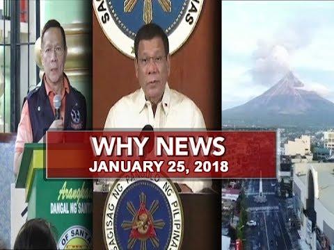 UNTV: Why News (January 25, 2018)
