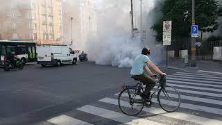 Risque d'explosion du moteur d'une voiture à porte des lilas