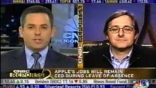 Accusal and Recrimination on CNBC Over Steve Jobs Health Issue