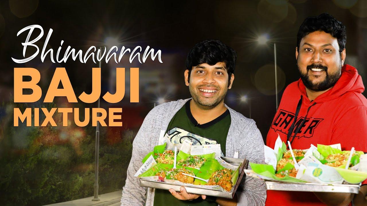 Amazing Street Food Hyderabad | Bhimavaram Bajji Mixture | Street Byte | Silly Monks | RJ Hemanth