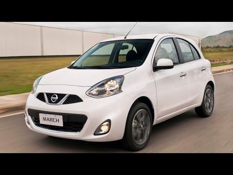 Novo Nissan March 2017 Automático CVT - preço, consumo, detalhes - www.car.blog.br