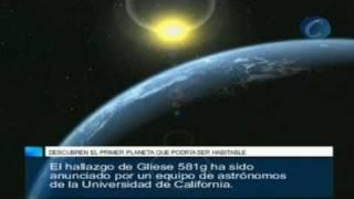 Hallan el primer planeta potencialmente habitable fuera del Sistema Solar