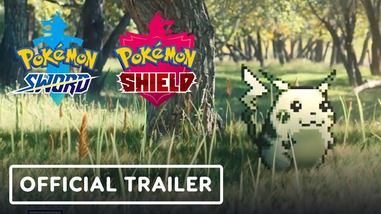 Pokémon Sword & Pokémon Shield - Trailer Oficial das Gerações + vídeo