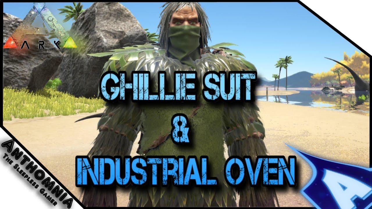 ark ghillie suit industrial