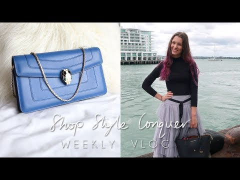 Benefit Party & New Designer Bag | Weekly Vlog with Ellen