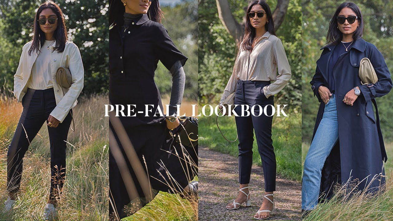 FIVE CASUAL PRE-FALL OUTFITS   LOOKBOOK