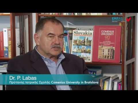 Dr. P. Labas -- Πρύτανης Ιατρικής Σχολής Comenius University in Bratislava