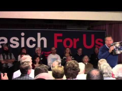 John Kasich Town Hall in Salem, NH - Part 1