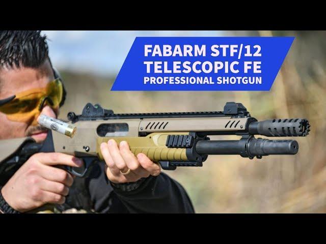 FABARM STF/12 Telescopic FE professional shotgun: test