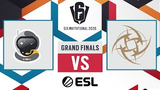 Spacestation Gaming vs. Ninjas in Pyjamas - Six Invitational 2020 - Playoffs - Day 8