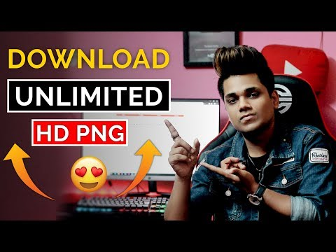 How To Download Free HD PNG For Photo Editing | Free HD PNG Download Site | Taukeer Editz