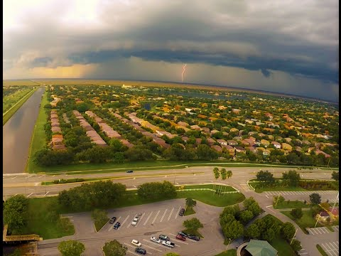 Storm Brewing Over Coral Springs