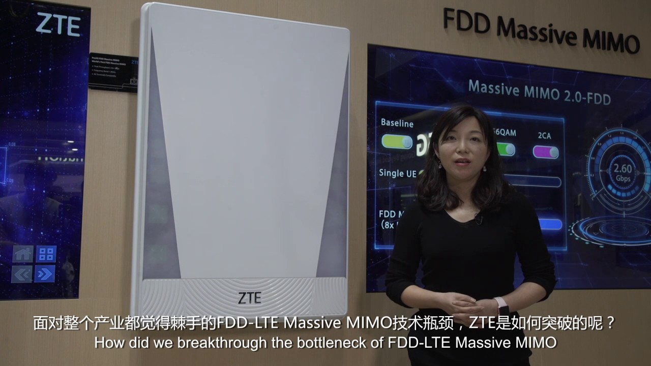 World's First FDD Massive MIMO