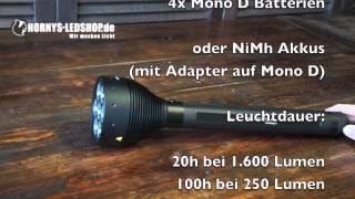 Shop: http://www.hornys-ledshop.de/led-lenser-x21-2-led-taschenlampe.html Facebook: https://www.facebook.com/HORNYS.LEDSHOP In diesem Video stellen ...