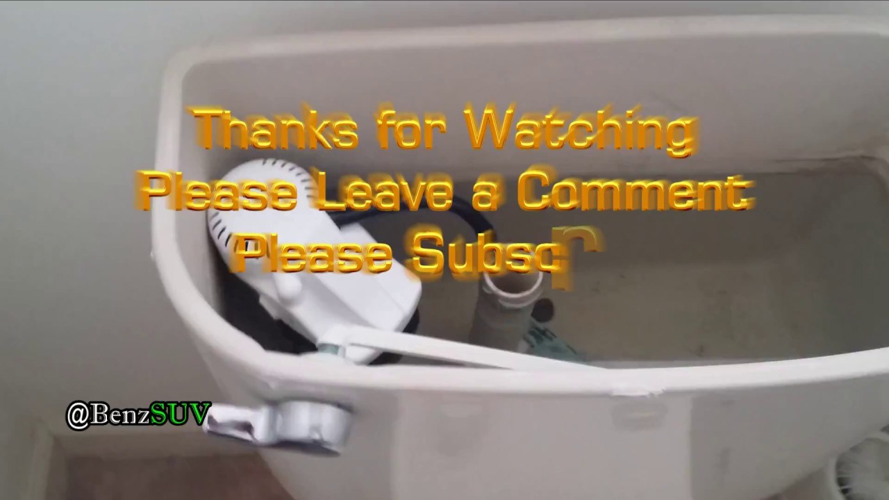 DIY - Korky Quiet Fill Universal Toilet Repair - Made in USA - YouTube