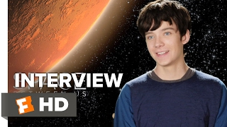 Starring: asa butterfieldthe space between us interview - butterfield (2017) dramathe first human born on mars travels to earth for the time, exp...