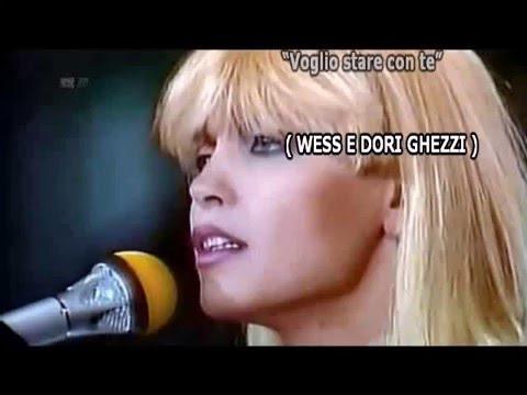 VOGLIO STARE CON  TE  - WESS  E DORI GHEZZI - KARAOKE