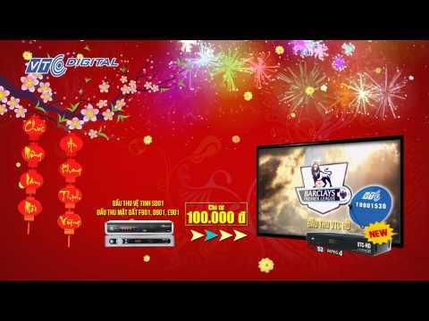 Đổi đầu thu mặt đất và SD01 sang VTC SH9 và VTC HD | VTC