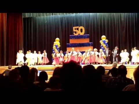 J.A. Coles Elementary School 2014 Variety Show- KIndergarden- Shout!
