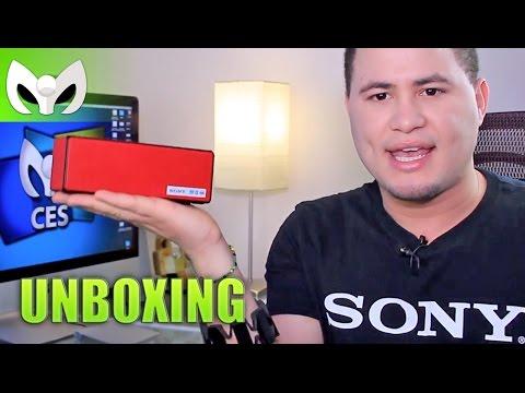 Bocinas Sony SRS-X3 @SonyLatin - #CES2015 (Unboxing)
