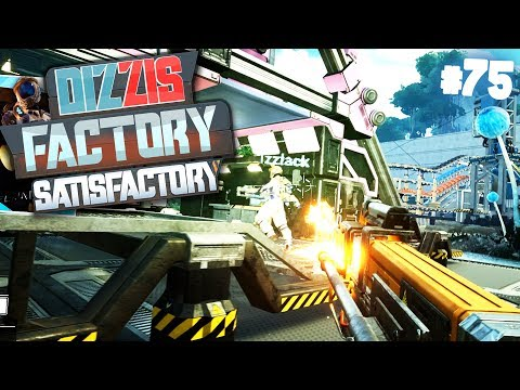 1 VS 1 BATTLE gegen IZZI mit NEUER WAFFE | Let's Play Satisfactory: Dizzis Factory #75 | izzi & Dner