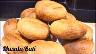 Baked Stuffed Masala 'BAATI' In Oven/Potato Masala Baati