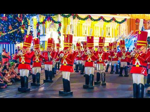 Mickey's Once Upon a Christmastime Parade Magic Kingdom