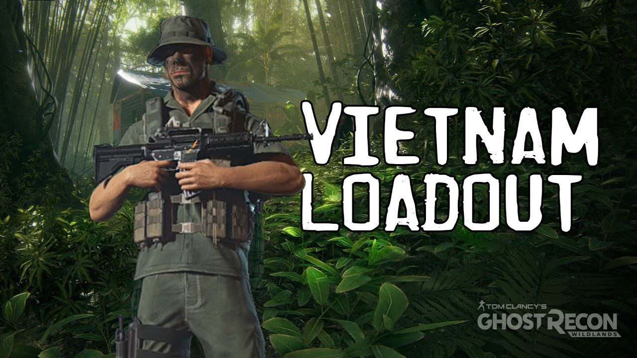 ghost recon wildlands american sog vietnam loadout