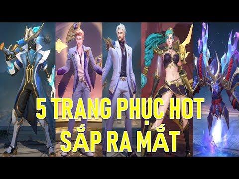 5 Skin mới cực đẹp : Valhein Khiêu chiến AIC, Mina Nữ hoàng sa mạc, Zill samurai ...
