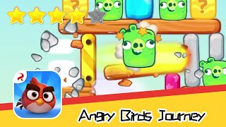 Angry Birds Journey 52 Walkthrough Fling Birds Solve Puzzles Recommend index four stars